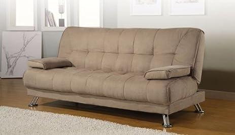 Amazon Coaster Home Furnishings Casual Sofa Bed Tan Kitchen