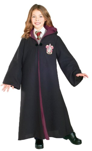 Adult Deluxe Harry Potter Costumes (Harry Potter Gryffindor Child Costume (Large))