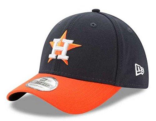 (MLB Houston Astros Team Classic Road 39Thirty Stretch Fit Cap, Blue, Small/Medium)