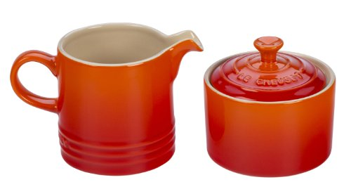 cream pitcher and sugar bowl - 9