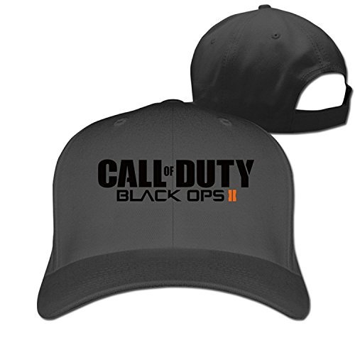 CUG Call Of Duty: Black Ops II Adjustable Solid Baseball Hat Black