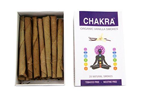 Chakra Herbal Cigarettes - Carton (10 Packs) - Tobacco-Free