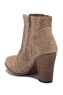 Vince Camuto Women's FENYIA Ankle Boot Wild Mushroom