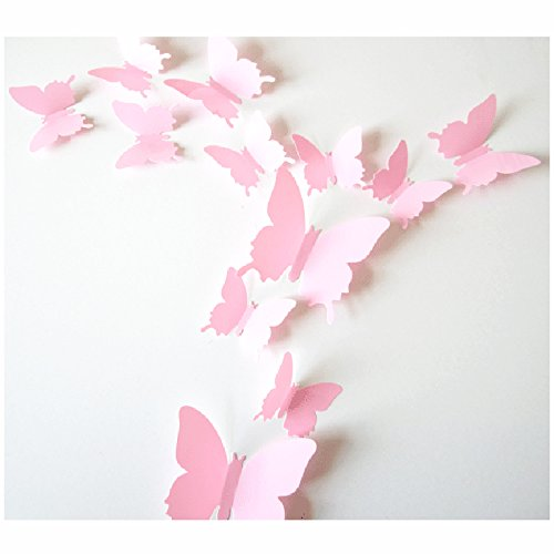 Butterfly Animal Wall Clock - 6