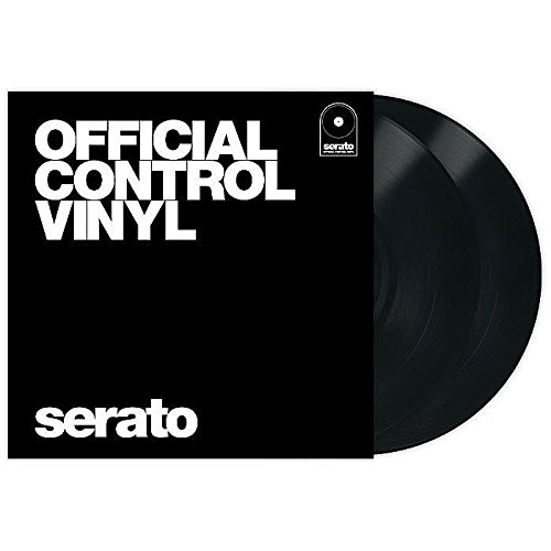 "Serato Serato Performance Series 12"" Control Vinyl, Pair, Black"