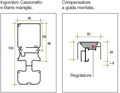 Mosquitera SCENICA Bettio sin barreras a ayudas de hasta 50 cm x ...