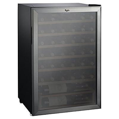 Whirlpool 40 Bottle 4.5 Cu. Ft Wine Refrigerator - Stainless Steel (JC-133EZ)