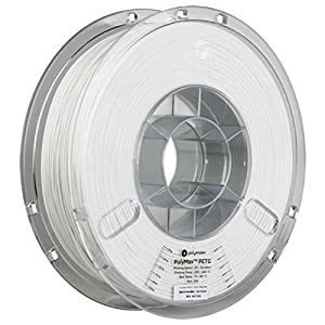 Polymaker polymax petg (1.75mm, 750g) white 3d printing filament, 3d printer filament, 1.75mm filament, white petg