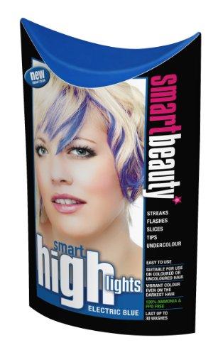 Smart Highlights Electric Blue Hair Dye