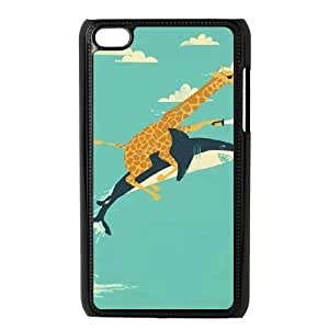 Shark Case For Ipod Touch 4 Black 6229388358112