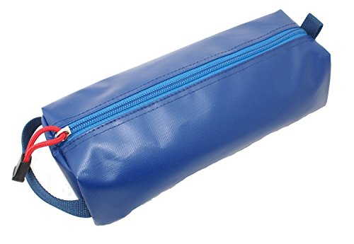 [Rough Enough Blue Fun and Classic Rubberized Small Tool Pencil Case Pouch (Free Shipping)] (Halloween Free Shipping)