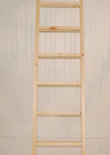 Kenzie's Stars and Gifts Ladder Wooden, 4 -