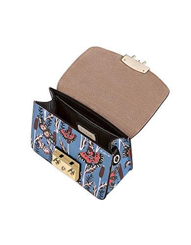 Furla Ladies 922063 Borsa A Tracolla In Pelle Blu Chiaro
