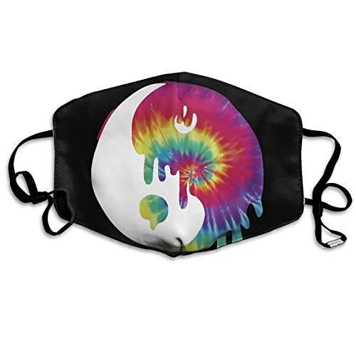 Tie Dye Tai Chi Printed Mouth Masks Unisex Anti-dust Masks Reusable Face Mask