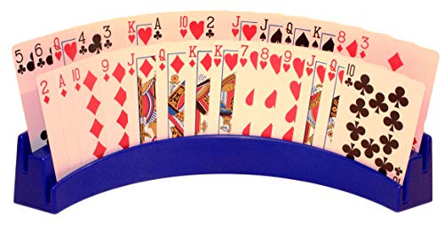 - Twin Tier Premier Playing Card Holder (Set of 2) - Holds Up to 32 Playing Cards Easily - 12 1/2