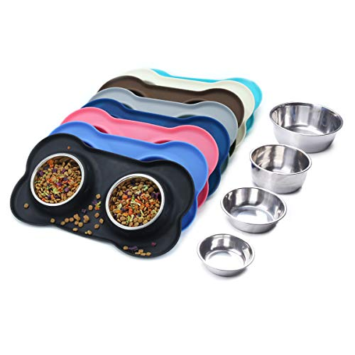 stainless steel bowls for dogs - 8