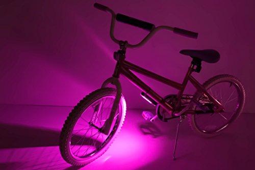 Brightz GoBrightz LED Bicycle Frame Accessory Light, Pink
