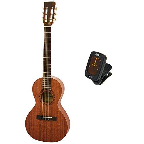 【純正クリップチューナーACT-CH付】ARIA/アリア ASA-18 パーラータイプ ミニギター 580mmスケール   B00SUDW88Q