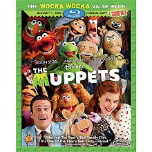 The Muppets (Blu-ray/DVD, 2012, 3-Disc Set, Includes Digital Copy)