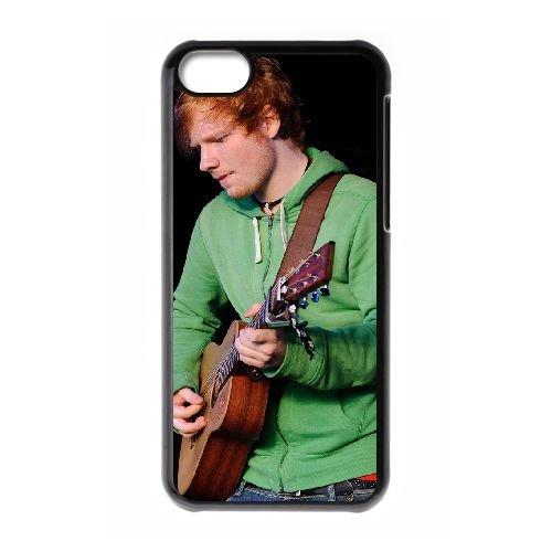 Ed Sheeran 004 coque iPhone 5C Housse téléphone Noir de couverture de cas coque EOKXLLNCD17470