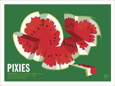 The Pixies watermelon - Print/Poster