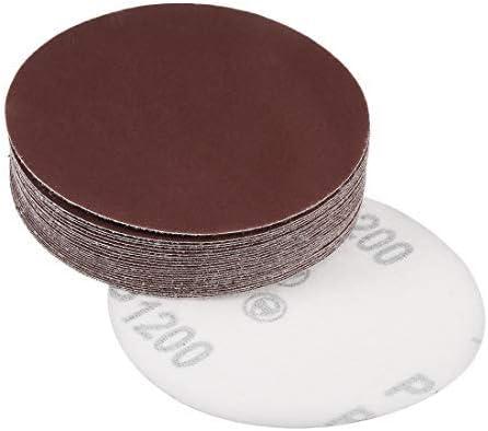 - 4-inch sanding disc, 1200 grains, aluminum oxide sandpaper, back sandpaper for sanders, 25 pieces