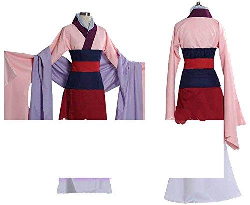 [No Brand Men's 2085Hua MulanCosplay (XL)] (Adult Mulan Costumes)