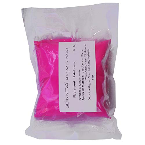 500 g Fluorescent Powder Glow in Dark Party Wall Decor Luminous Graffiti Pigment (Pink)