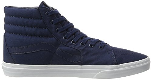 Sk8 Canvas UA Scarpe Alte Vans Blu Dress White Mono da Hi Ginnastica True Uomo Blues C4fvWw5qW