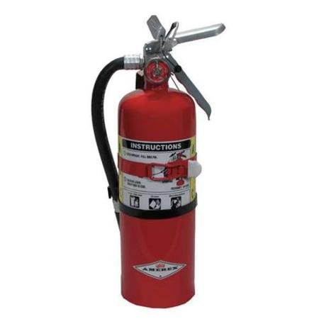 Amerex 402T, 5lb ABC Dry Chemical Class A B C Fire Extinguisher by Amerex