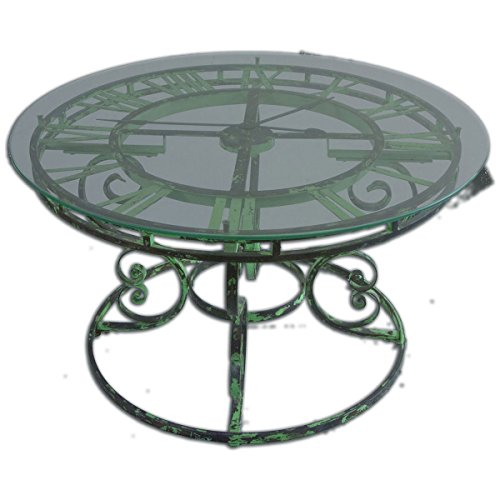 Uttermost 24349 Gilbertine Clock Table