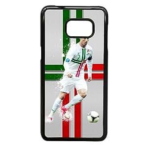 Cristiano Ronaldo_006 Samsung Galaxy S6 Edge Plus Cell Phone Case Black Protective Cover