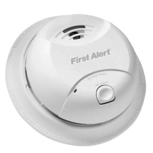 First Alert 10-Year Tamper Resistant Smoke Alarm, 0827B by First Alert