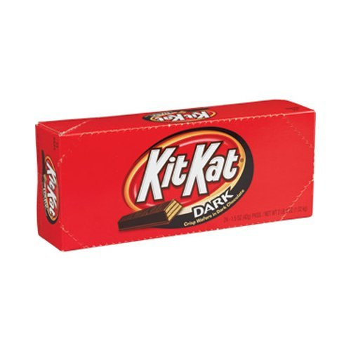 Price comparison product image Kit Kat Dark Chocolate (Pack of 24) by Kit Kat