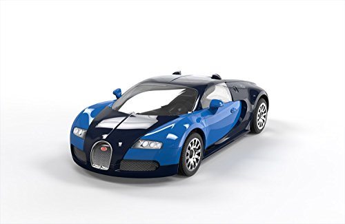 Airfix Quickbuild Bugatti Veyron Supercar Plastic Model Kit (J6008)