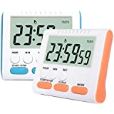 Laboratory Timer, Kitchen Timer,Stop Watch and Digital Clock with Magnetic