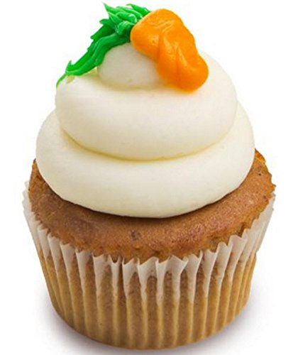 Carrot Cake Cupcakes - Cream Cheese Frosting Dessert - Nut Free - 12 Pack - Baked Fresh Day of Order by House of Cupcakes (Image #2)