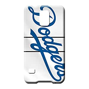 samsung galaxy s5 Heavy-duty Colorful Protective Stylish Cases cell phone skins los angeles dodgers mlb baseball