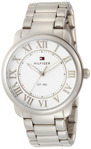 Tommy Hilfiger Women's 1780999 Classic Stainless Steel Bracelet with White Dial Watch