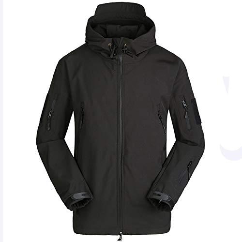 - Military Ba Gear Traverse Cold Weather Hoody Fleece Coat-Black 2XL