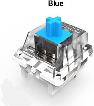 Gateron Switches 3-pin 5-pin Replacement of Kailh Switches and Cherry MX Switches of Mechanical Keyboard 70PCS