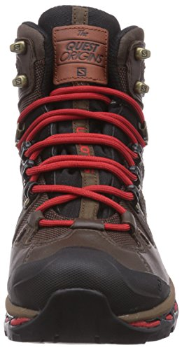 Quick GTX Boots Black Men's 2 Salomon Origins Brown Quest Hiking qWzBqgIc