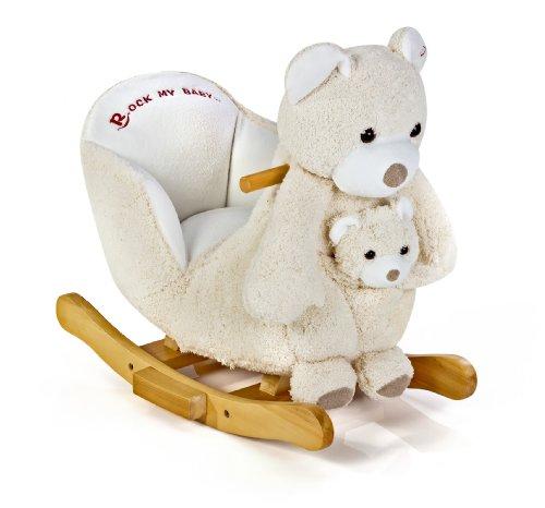 (knorr-baby 60047, Rocking Bear, Polar )