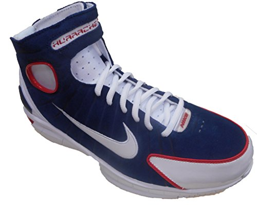 a78998812cdc Galleon - Nike AIR ZOOM HUARACHE 2K4 Mens Basketball-shoes 308475-400 11.5  - MIDNIGHT NAVY WHITE-UNIVERSITY RED-WHITE