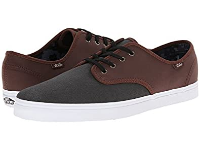 57ed26e867 Image Unavailable. Image not available for. Color  Vans Madero C L  Magnet Leather Sneakers ...
