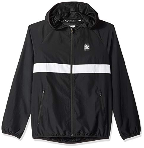 adidas Originals Mens Skateboarding Packable Wind Jacket