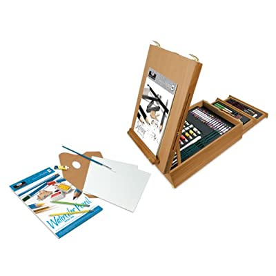 Royal & Langnickel 150-Piece All Media Easel Artist Set: Arts, Crafts & Sewing