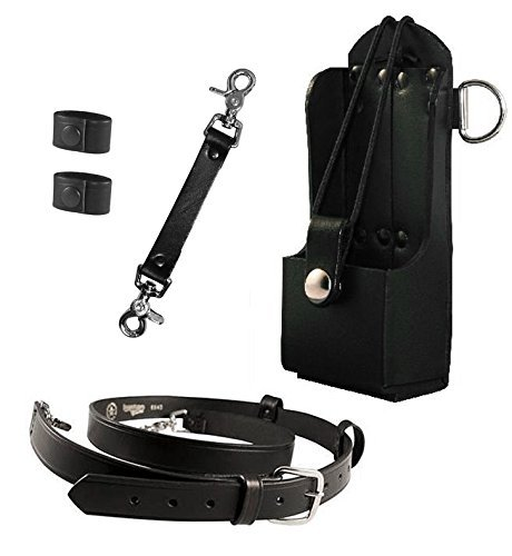 ighter Bundle- Anti-Sway Strap for Radio Strap, Radio Strap / Belt, Firefighter's Radio Holder (for Motorola HT750 / HT1250) ()