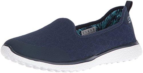 Bleu pour Skechers Femmes Microburst It's My Life Chaussures S01qZ