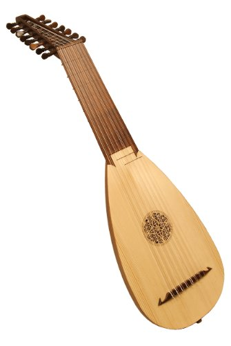Roosebeck 8-Course Travel Lute by Roosebeck
